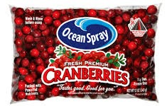 Save $1 on Ocean Spray Cranberries