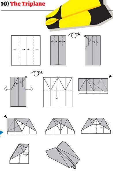 Cara Membuat Pesawat Kertas Yang Bisa Terbang Super Jauh: 12 Cara Unik Membuat Pesawat Kertas (Part 2)