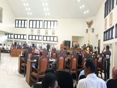 DPRD Malra Gelar Paripurna Penyampaian Perubahan APBD 2018