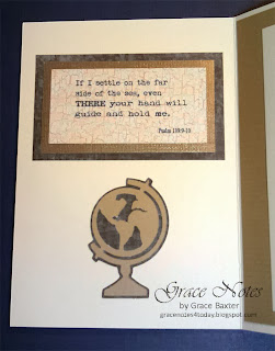 World's Best Son-in-law Birthday card inside Bible verse