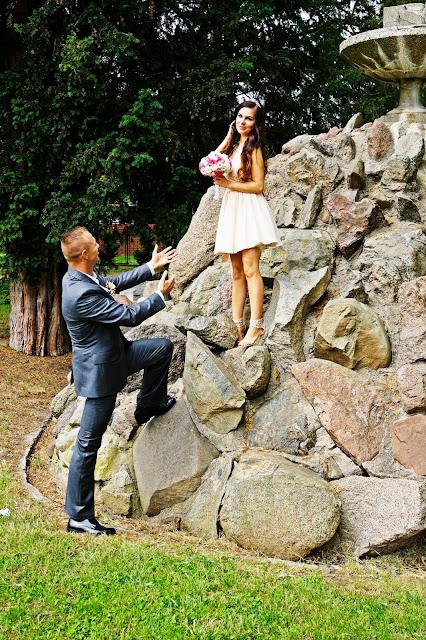 sesja ślubna wplenerze