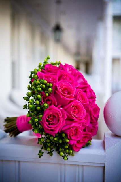 buquê rosa