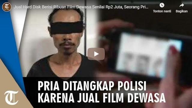 Perjual Belikan Kaset Dan Hard Disk Film Porno, Pria Asal Tanjung Priok Ini Ditangkap Polisi