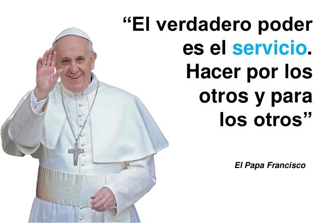 Resultado de imagen para SERVICIO PAPA FRANCISCO