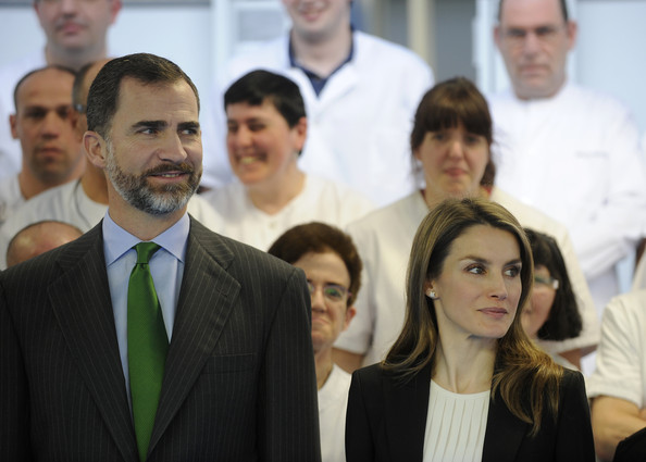 Crown Prince Felipe and Crown Princess Letizia