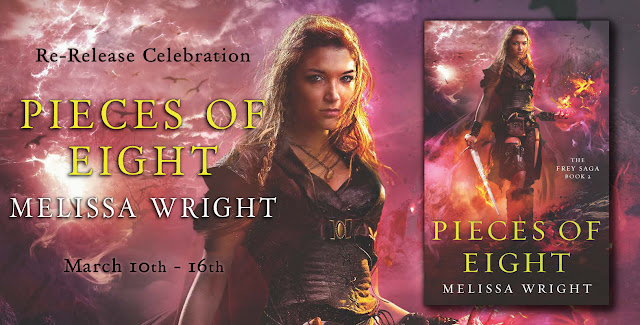 Re-Release Celebration Blitz: Pieces of Eight by Melissa Wright [Giveaway]