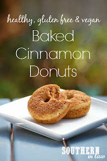 Healthy Vegan Baked Cinnamon Donuts Recipe Gluten Free