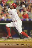 2016 Phillies Team Issue 2 #13 Freddy Galvis