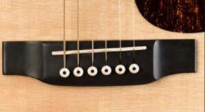 Nut gitar dari tulang