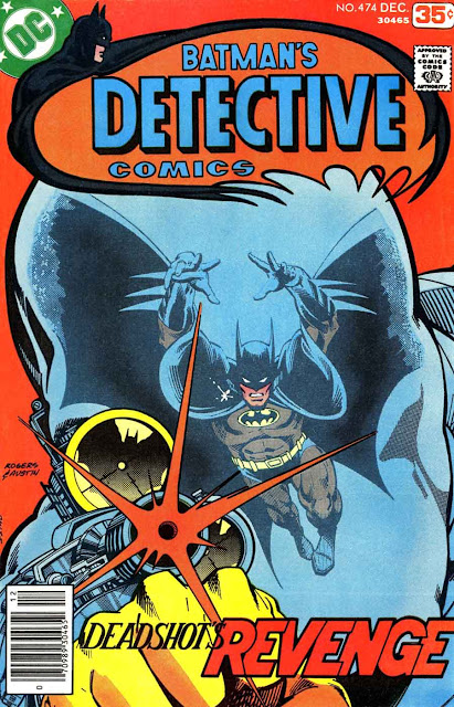 Detective Comics v1 #474 dc comic book cover art by Marshall Rogers