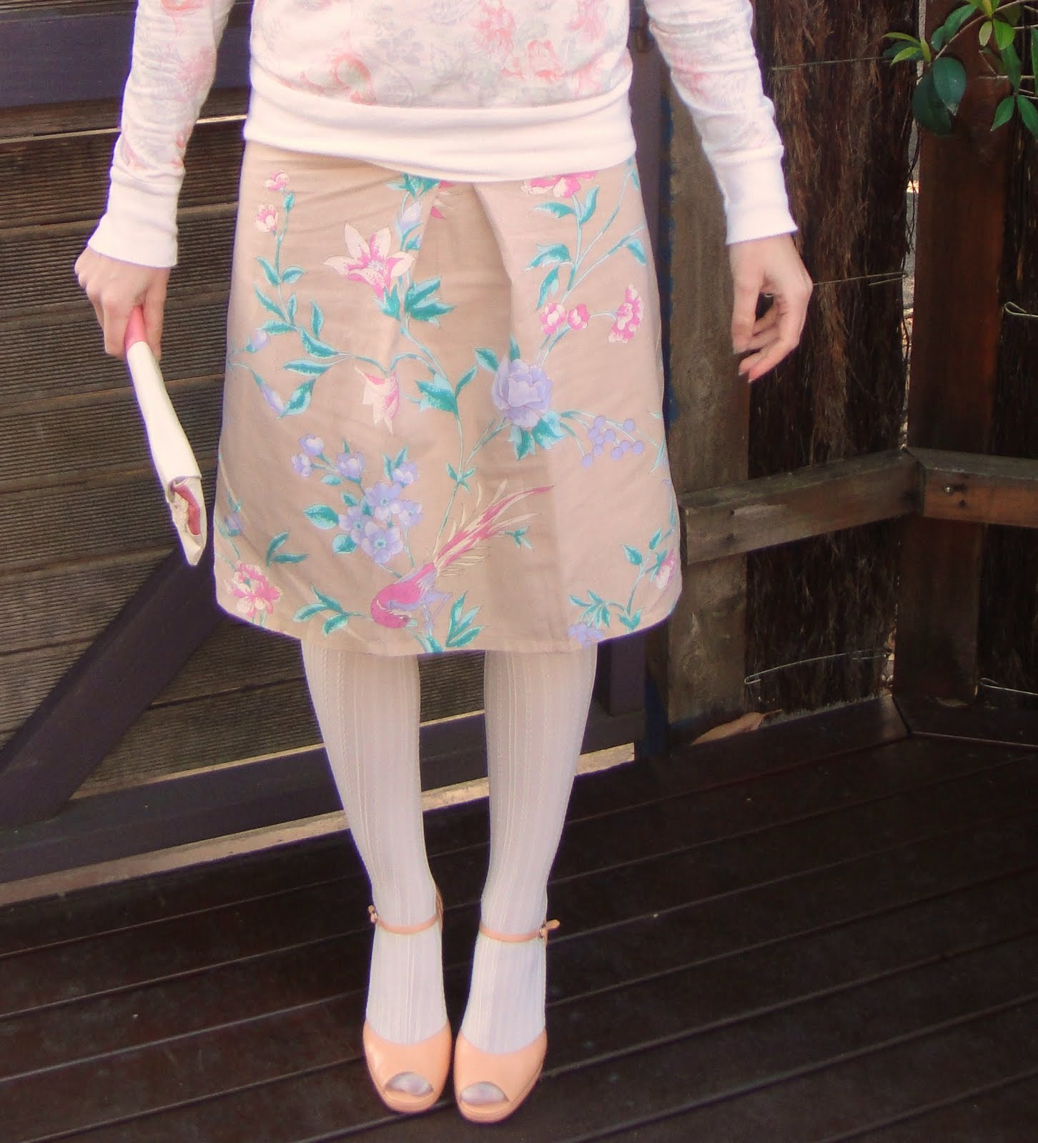 Recycled Fashion Bed Sheet Starboard Skirt