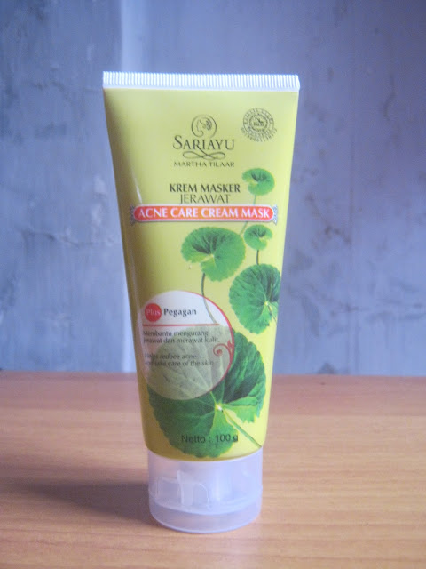 Sariayu Acne Care Cream Mask