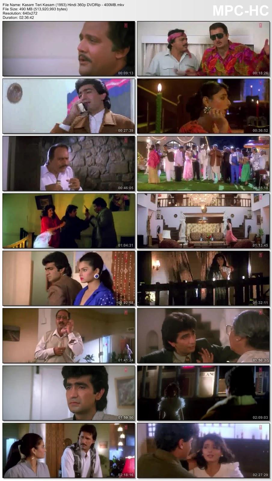 Kasam Teri Kasam 1993 Hindi 360p DVDRip 400MB Desirehub