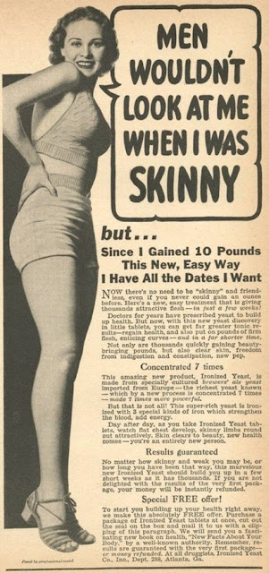1950s Weight Gain Advert