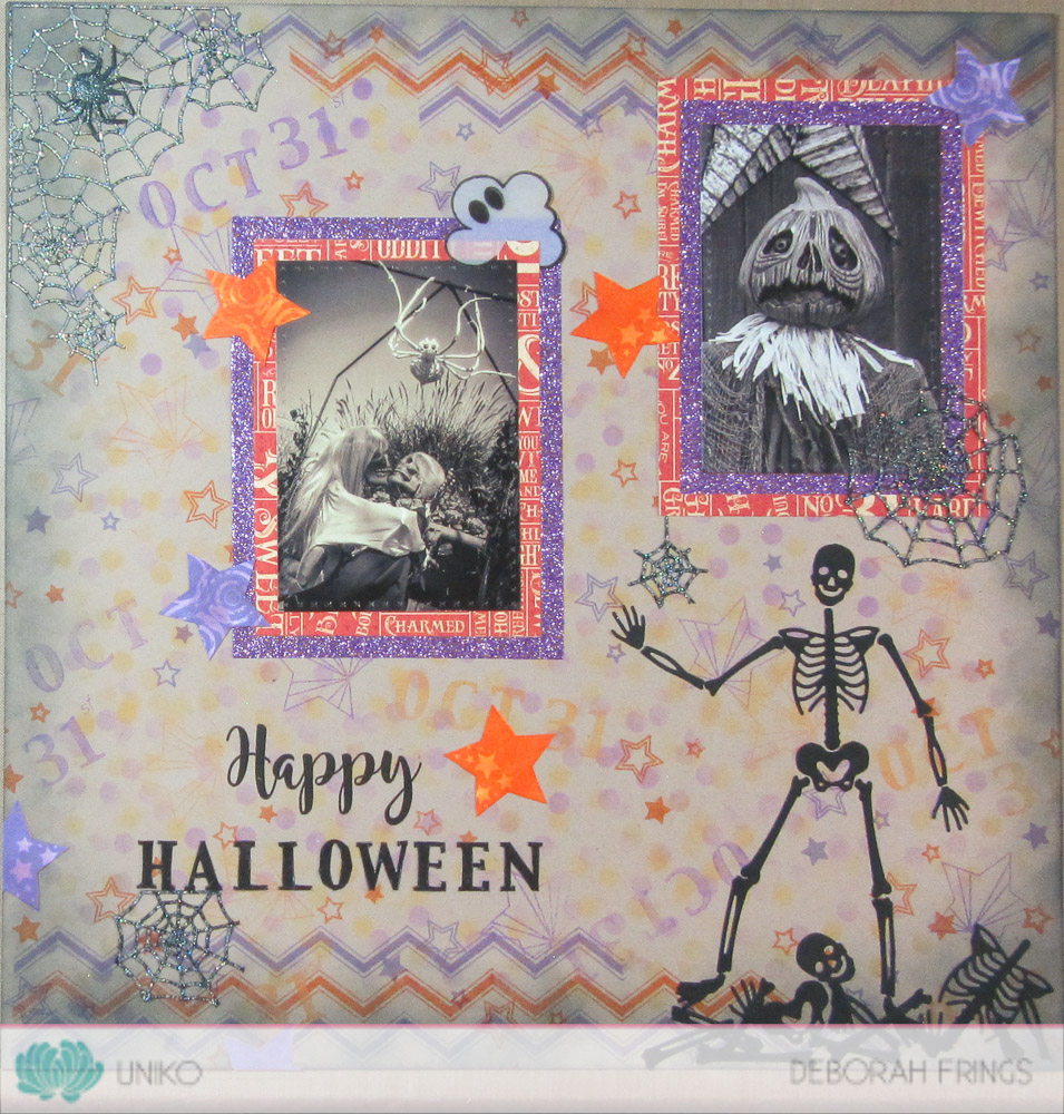 Lovely I Had So Much Fun Making This Scrapbook Page And Really Must Do More.  Stamps Make So Much More Than Just Cards!! Hereu0027s Another Quick Look At My  Halloween ...