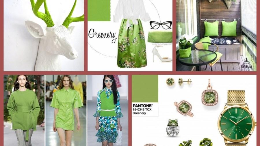 Verde Greenery - a cor de 2017