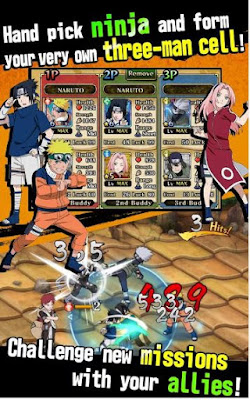Ultimate Ninja Blazing APK4