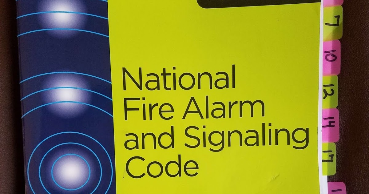 NFPA 72 Tabs for NICET Exam | Fire Alarms Online