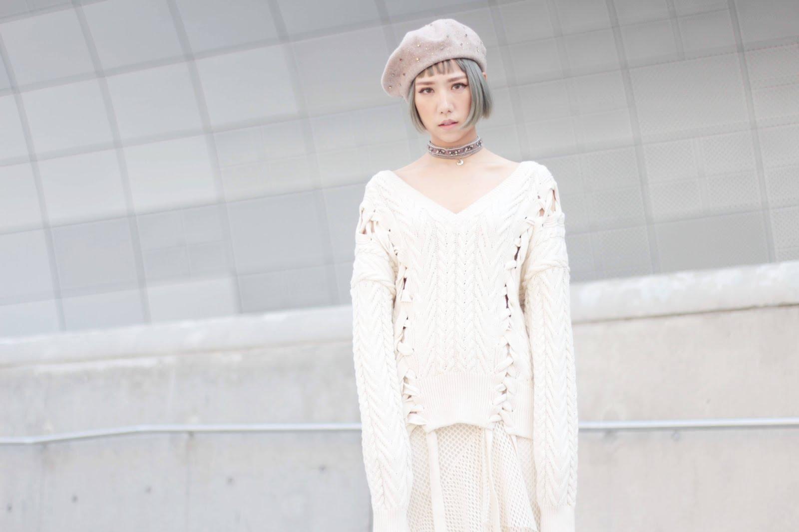 헤라세울패션위크 스트릿스타일  hera seoul fashion week fw17 streetstyle