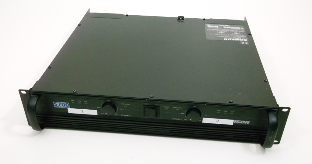 for sale samson s700 power amplifier 99 one one two. Black Bedroom Furniture Sets. Home Design Ideas