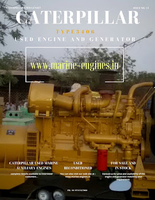 used, caterpillar, CAT 3406, 3406B, 3406C, 3406E, 3406 DITA, for sale, KVA, RPM, for sale, genset, Diesel Generator, Diesel Engine, Marine, boat, ship, radiator, heat exchanger