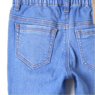 Quần jean dài bé trai xuất Hàn, xịn dư made in Vietnam, chất jean co giãn size 2-8T.
