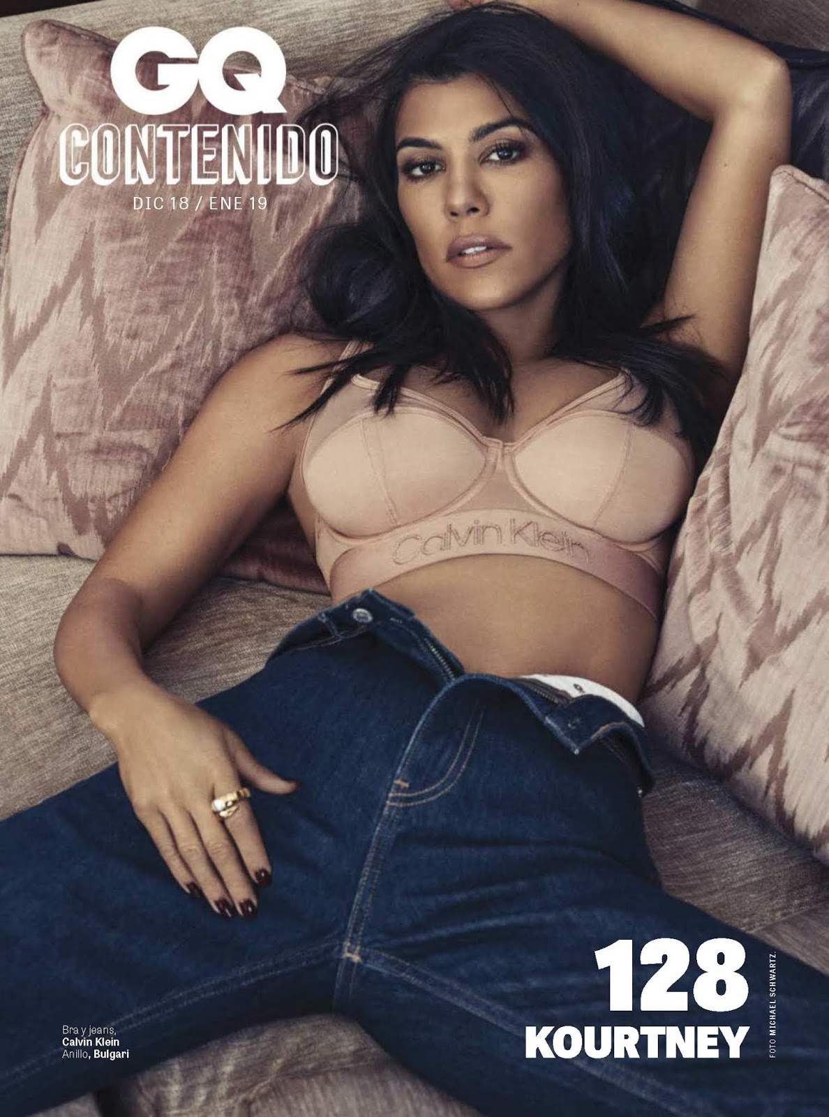 Kourtney Kardashian in GQ Mexico Magazine – December 2018