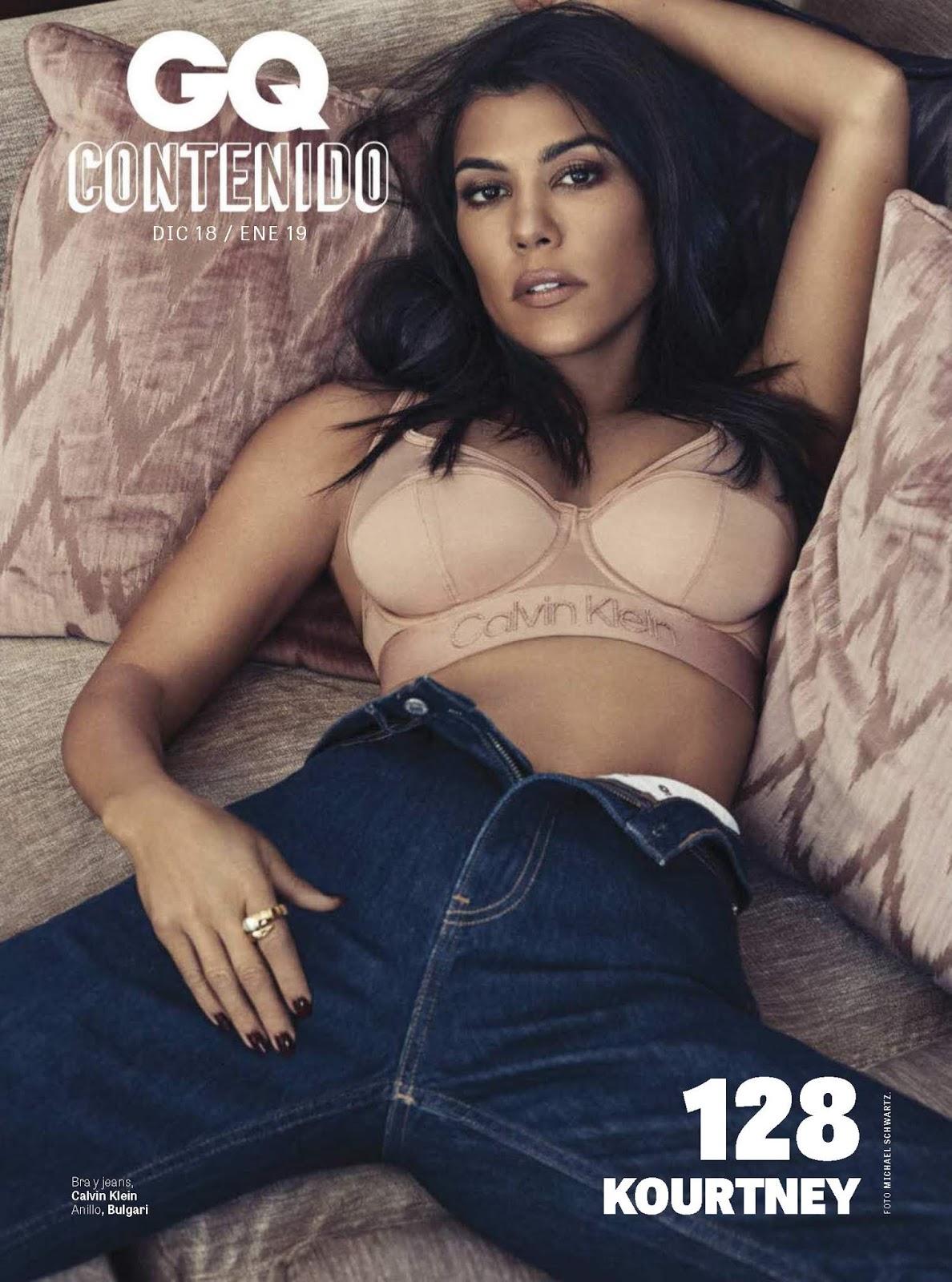 Kourtney Kardashian in GQ Mexico Magazine – December 2018
