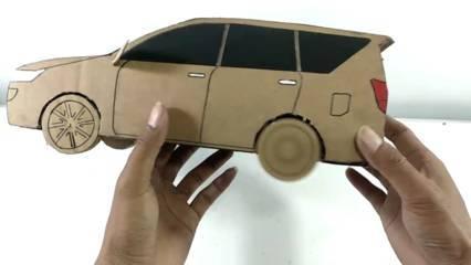 Mobil keren dari kardus