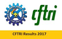 CFTRI Results 2017