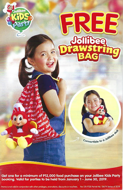 Jollibee Party Package 2019 - Brochure