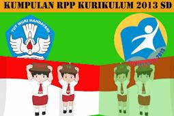 RPP Kurikulum 2013 Kelas 5 SD/MI Dengan Kegiatan Proyek Semua Tema dan Sub Tema