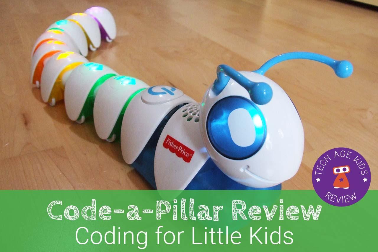 Best Coding Toys Reviewed : Code a pillar coding caterpillar review