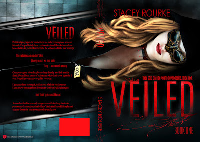 cover reveal, Stacey Rourke, Veiled, On My Kindle Book Reviews