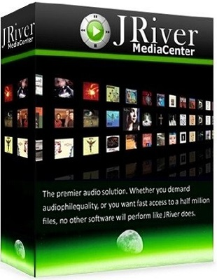 JRiver Media Center 23.0.36 poster box cover