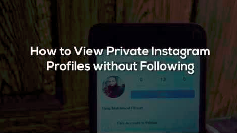 How to see someones private instagram without following them ccuart Gallery