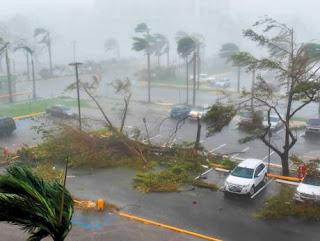 Hurricane Maria is heading towards Puerto Rico