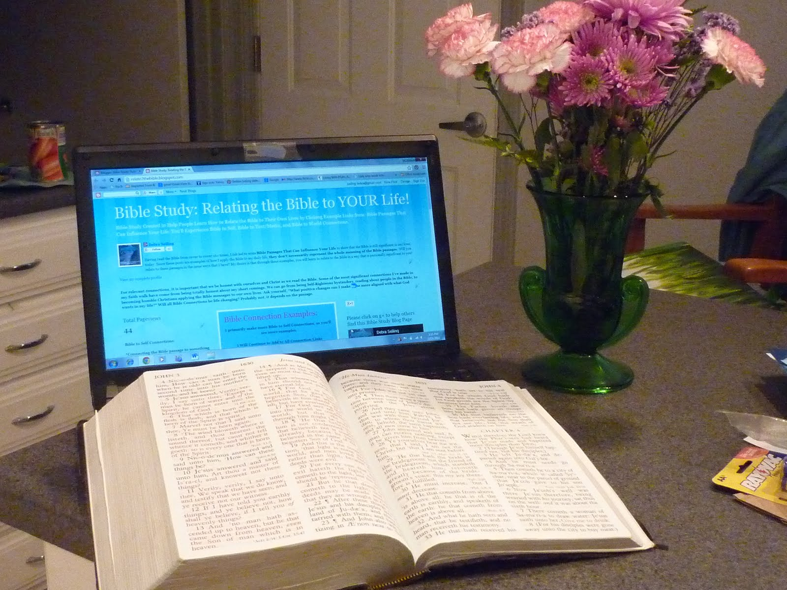 Bible Study: Relating the Bible to YOUR Life!