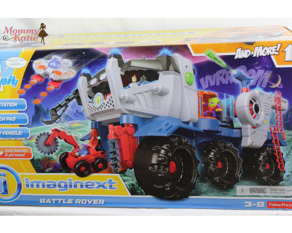 51367605df29d9 Holiday Gifts from Fisher-Price w  the Imaginext Battle Rover ...
