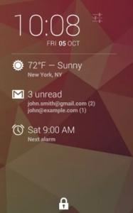 9 Widget per il blocco schermo di Android
