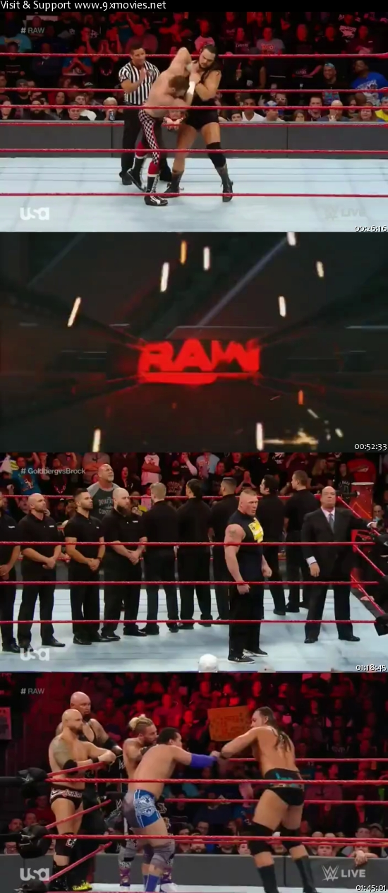 WWE Monday Night Raw 14 Nov 2016 HDTV 480p