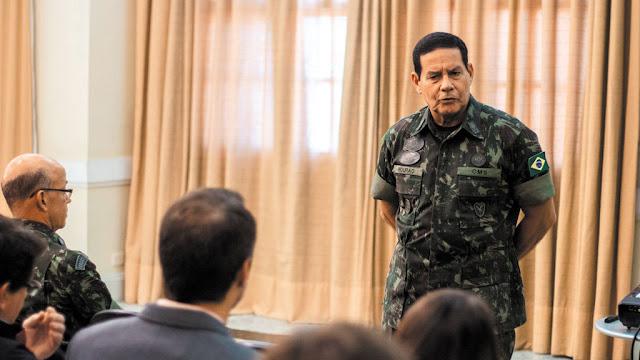 Vice de Bolsonaro general Mourão foi uma boa escolha? [PSL e PRTB]