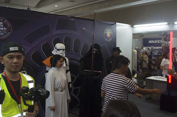Star Wars cosplayers