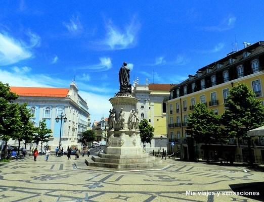 Plaza de Luis de Camoes, Chiado, Lisboa