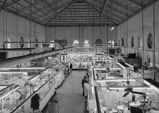 Eastern Market Interior from the Library of Congress Photographs Division