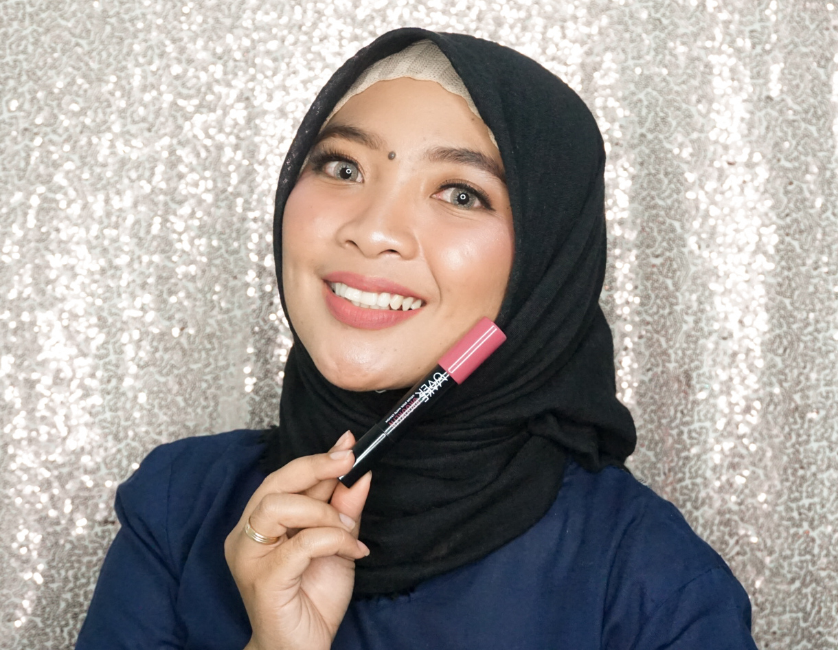 Review Make Over Color Stick Matte Crayon Brooklyn dan swatch pada kulit sawo matang