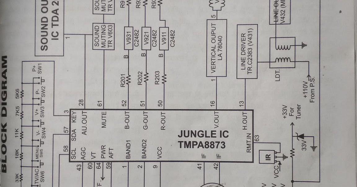 Circuit Diagram Of 8873 Tv Kit