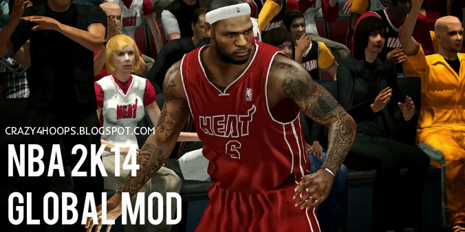nba 2k14 global patch graphics