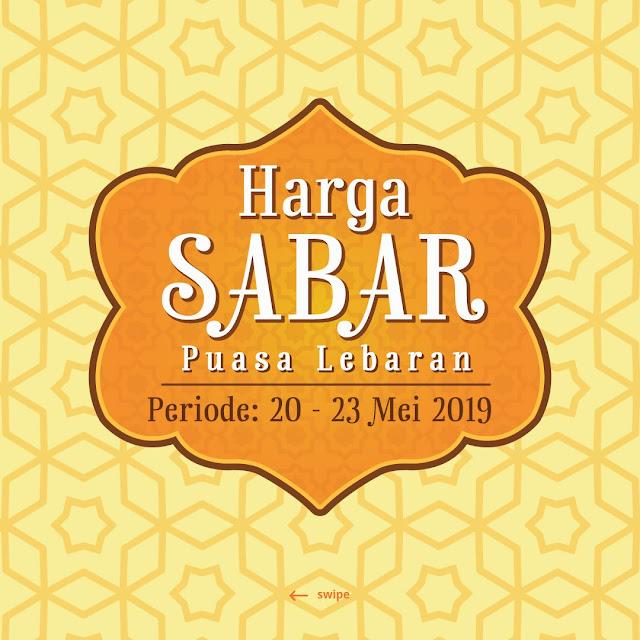 #Yogya - #Promo #Katalog Harga Sabar Periode 20 - 23 Mei 2019