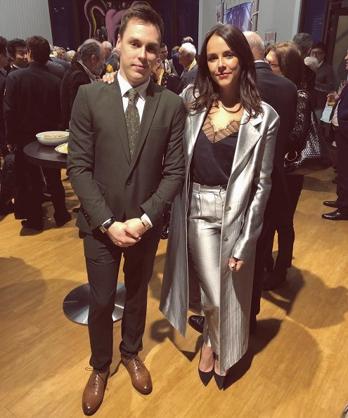 Prince Albert of Monaco and Princess Stephanie of Monaco, Pauline Ducruet and Louis Ducruet at 42nd International Circus Festival in Monte-Carlo